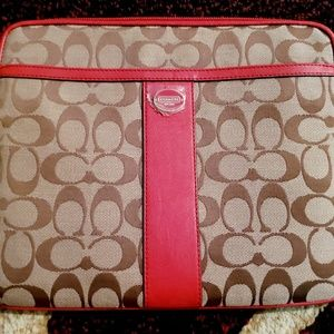 Coach iPad/tab case